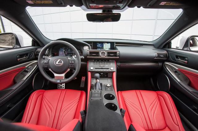 2015 Lexus RC F UK