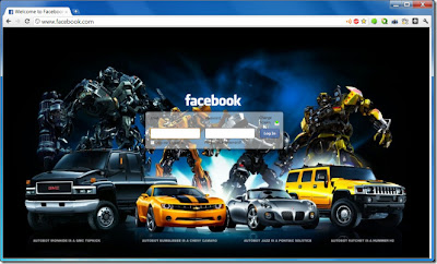 FB Refresh Changes Facebook Login Background
