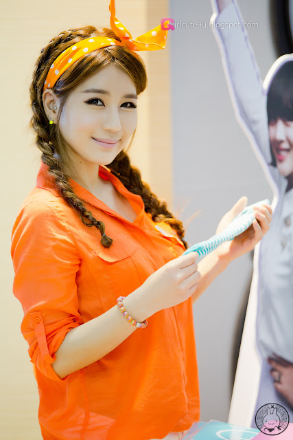 2 Park Si Hyun - World IT Show 2013 - very cute asian girl - girlcute4u.blogspot.com