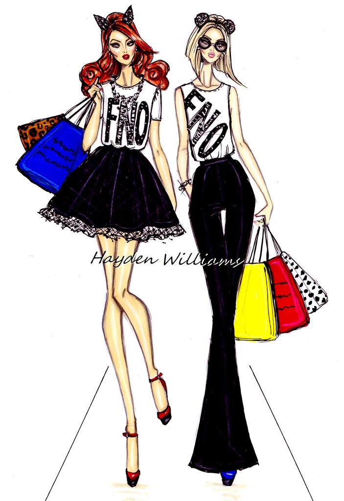 Модные Эскизы Одежды