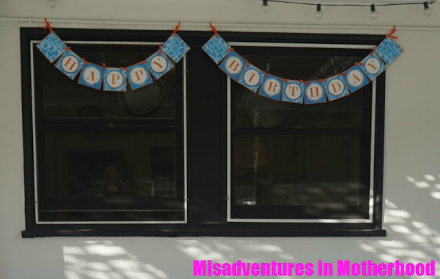 bubble party banner