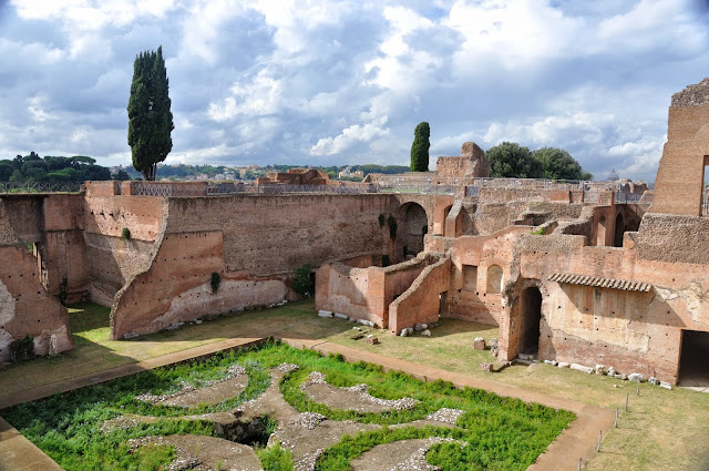House of Augustus at Palatine Hill