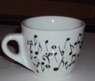 tazzina caffè Vergnano Natale musica