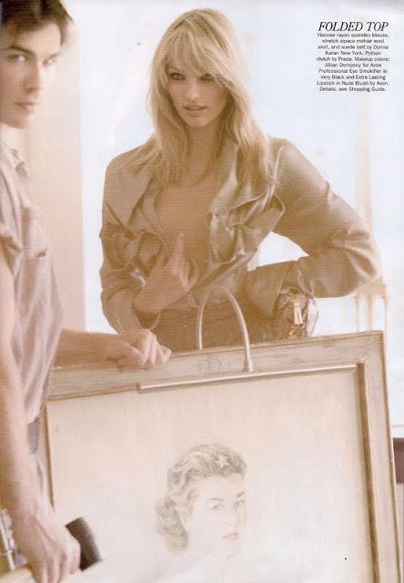 Candice Swanepoel – Allure Magazine