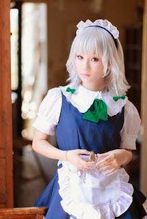 Touhou Izayoi Sakuya cosplay by Koyuki