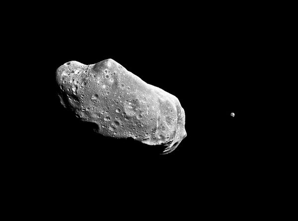 asteroid circling earth - photo #33