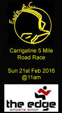 Carrigaline 5m road race...Sun 21st Feb 2016