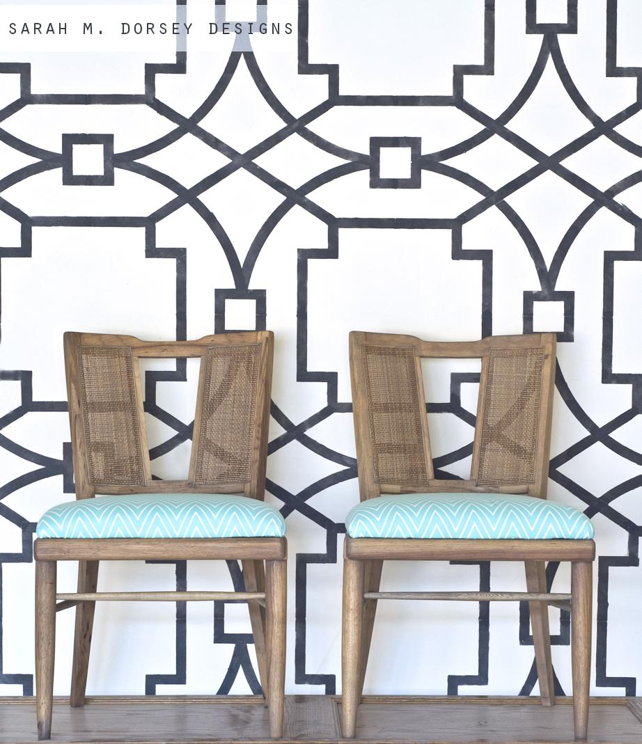 Refurbished Mid Century Modern Chairs
