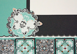 Scrapbook Page made by Bekka from Stampin' Up!'s Afternoon Daydream Simply Scrappin Kit  www.feeling-crafty.co.uk