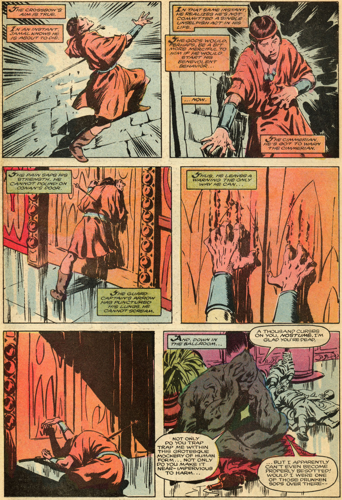 Conan the Barbarian (1970) Issue #179 #191 - English 17