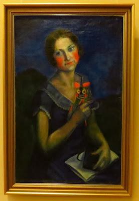 Виктор Пальмов, Верочка. Портрет художницы В. Лимаренко, 1926