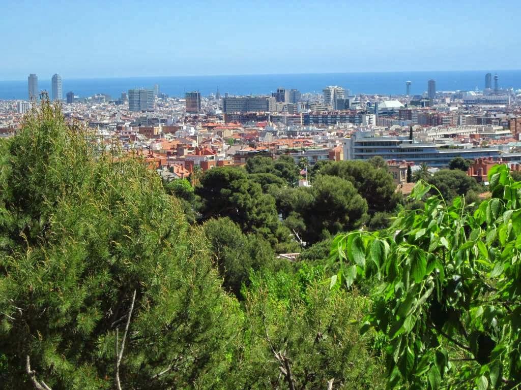 Barcelona from Oreneta Park