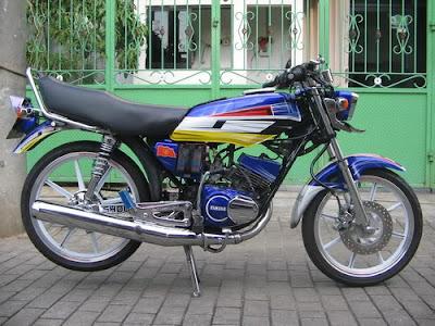 Yamaha RX King Modif Airbrush
