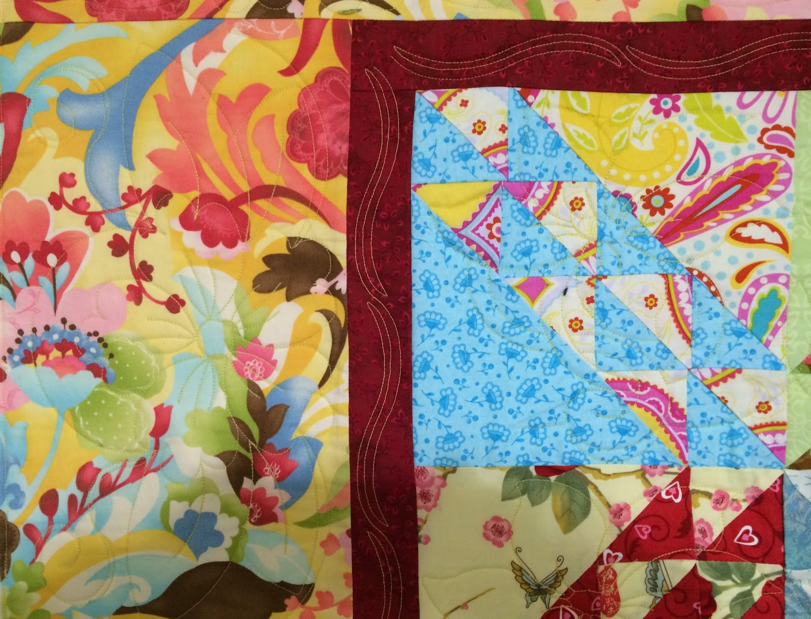 Cheryl Vastola's Colorful Quilt