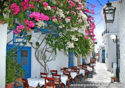 Tempat wisata di yunani santorini mykonos pulau paling indah di Yunani Milos Greece Yunani