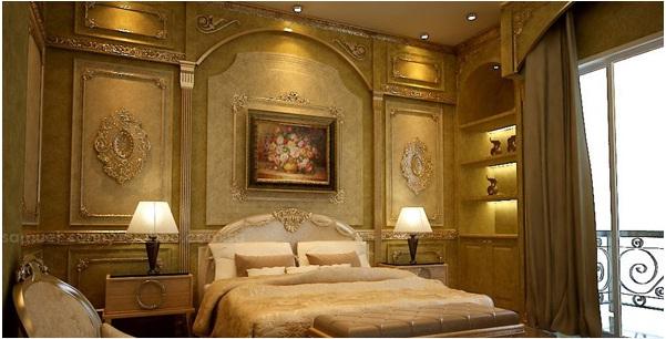 desain kamar classic