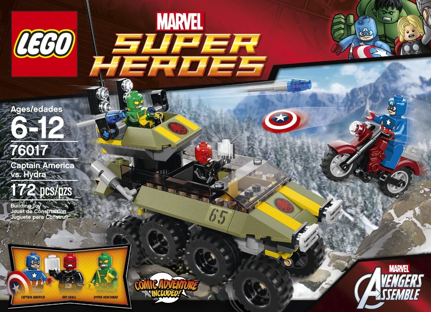 Lego Marvel Universe Set And Minifigures on thor custom car