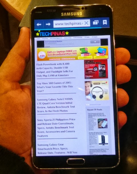 Smart Samsung Galaxy Note3