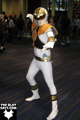 Wizard World New Orleans Comic-Con 2012 - White Power Ranger