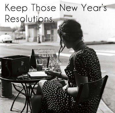 Keep Those New Year's Resolutions. Tips for making your new year's resolution list enjoyable, attainable, and effective.