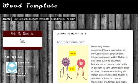 Boston Blogger Template