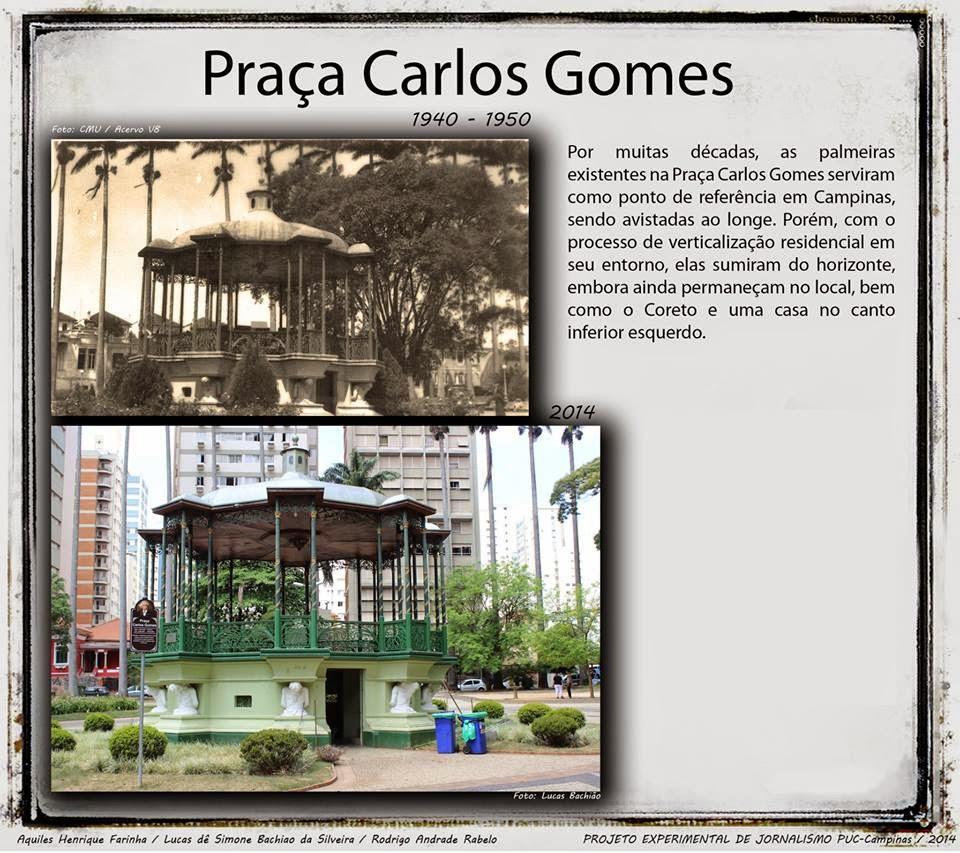 Praça Carlos Gomes - Campinas