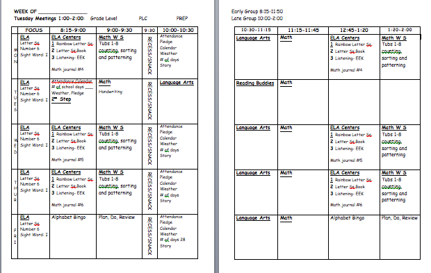 Lesson Plan Book Template Printable. Lesson. DIY Home Plans Database