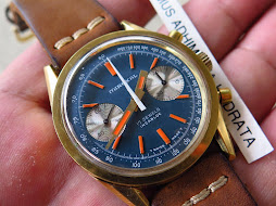 MIREXAL CHRONOGRAPH BLUE DIAL - MANUAL WINDING