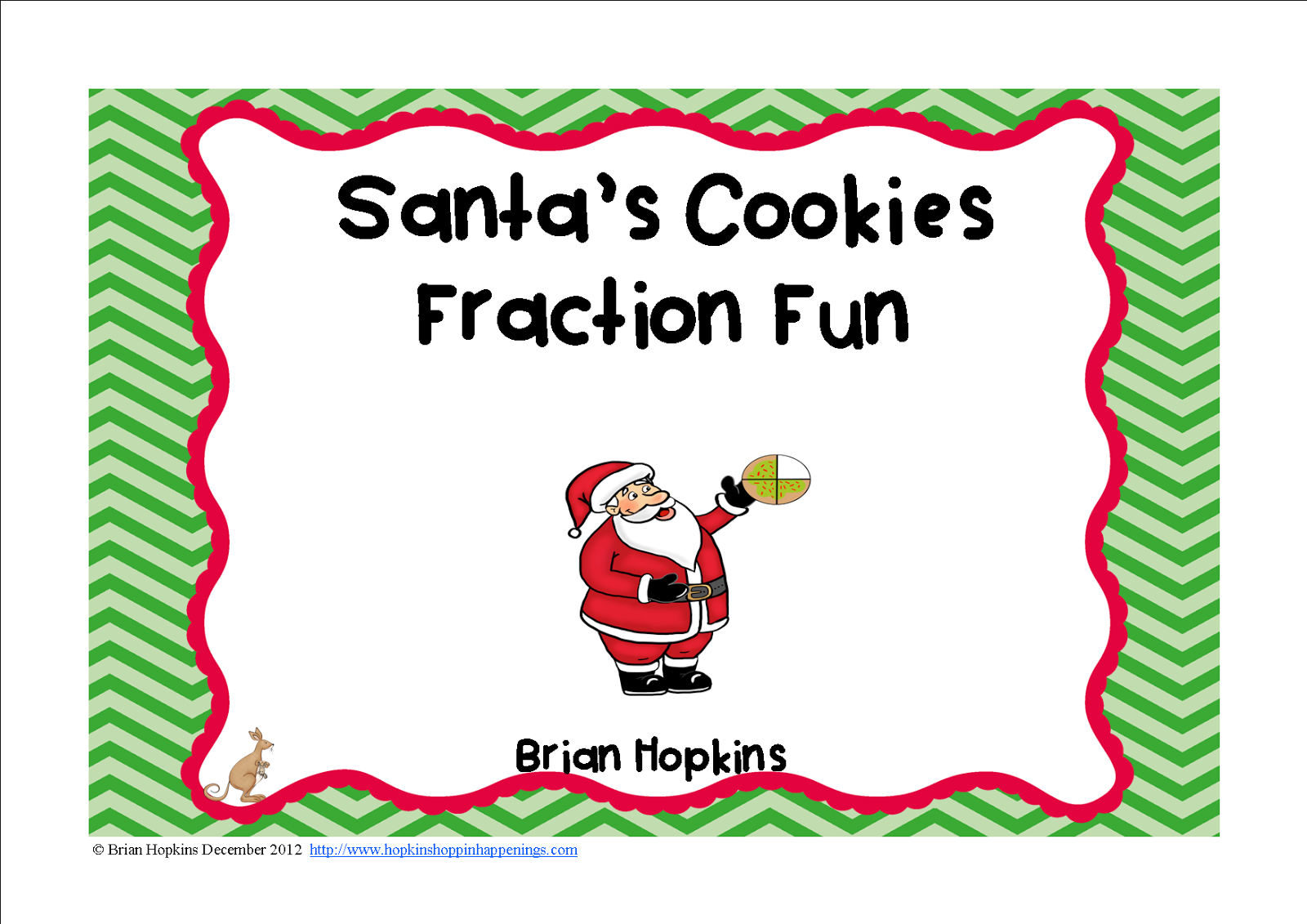 Santa's Cookies Fractions