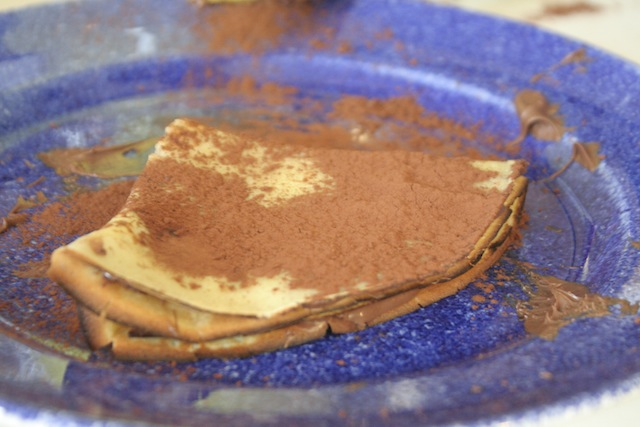 Receta Crepes Dulces Thermomix