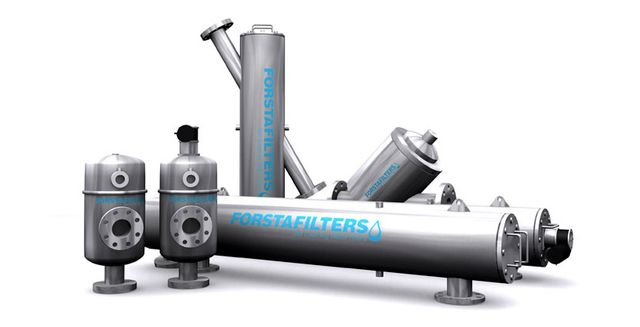Forsta self-cleaning industrial water filters provide invaluable solutions