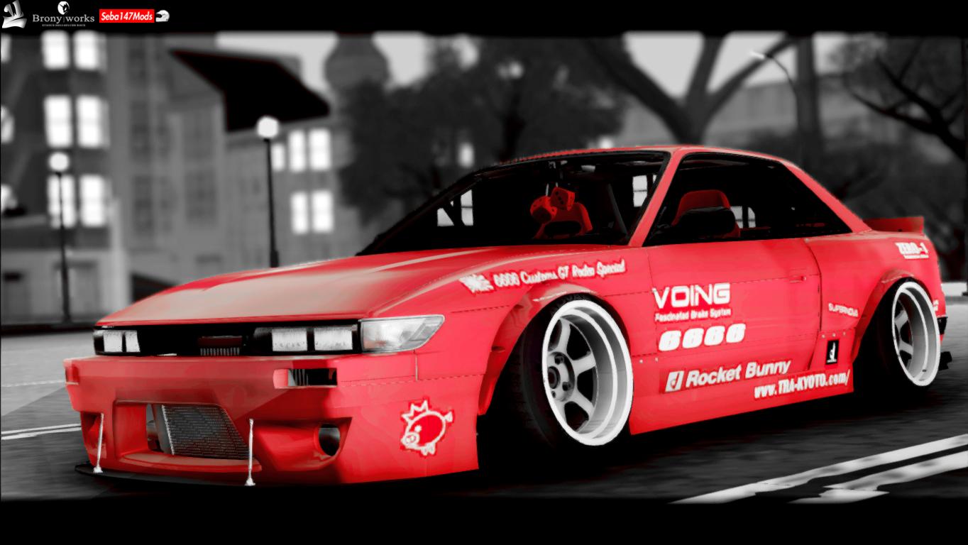Nissan Silvia S13 Rocket Bunny By Seba147 Danitho