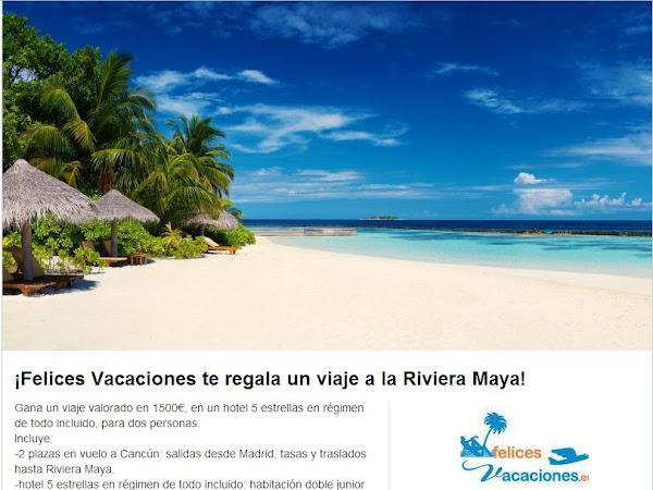 ¡Sorteo Viaje a Riviera Maya con Todo Incluido!