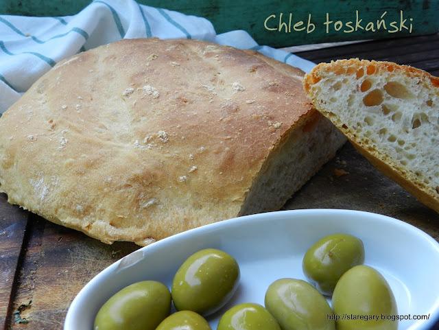 Chleb toskański  - sierpniowa piekarnia