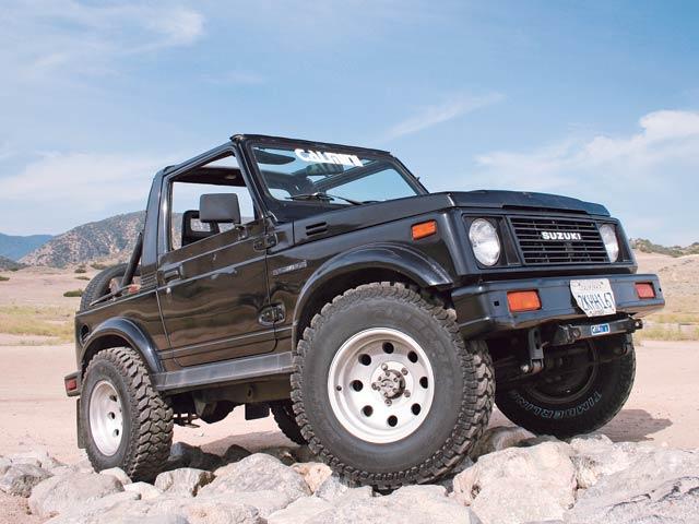 Extreme X Suzuki Samurai Diesel