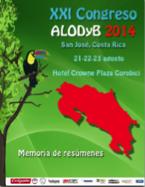 MEMORIA DEL XXI CONGRESO ALODYB 2014