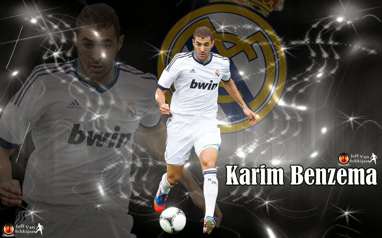Wallpaper Karim Benzema