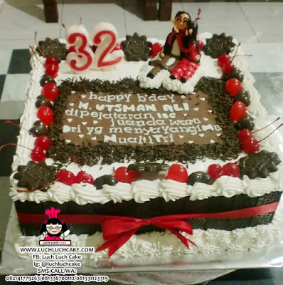 Kue Tart Blackforest Daerah Surabaya - Sidoarjo