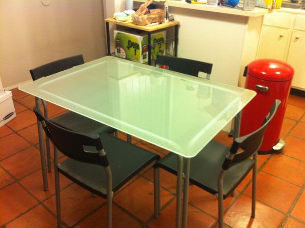 Dining Table Furniture Craigslist Dining Table : ikeaglassdiningtableaustincraigslist35 from michaelastyblova.blogspot.com size 600 x 448 jpeg 35kB