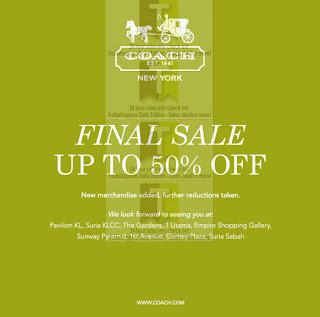 COACH Final Sale 2012