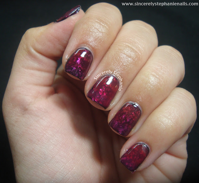 jelly sandwich gradient nail art