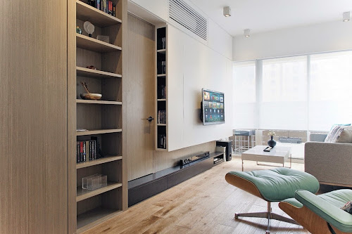 Grand Scholar: Contemporary Design for Small Apartment