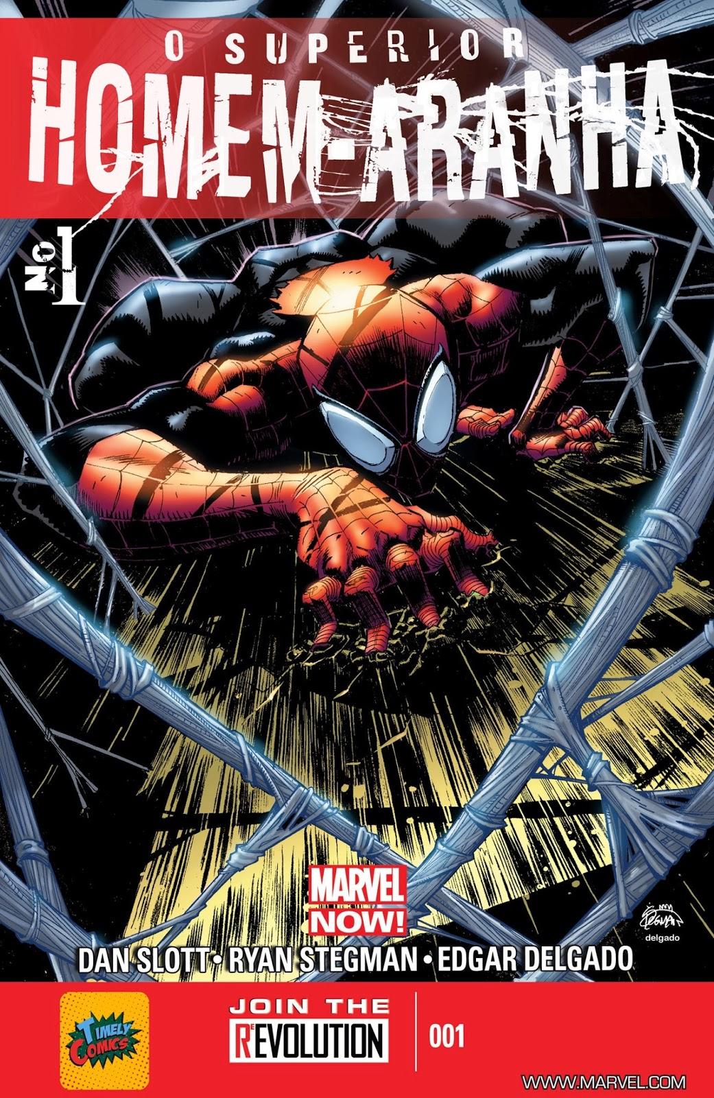 Nova Marvel! O Superior Homem-Aranha #1
