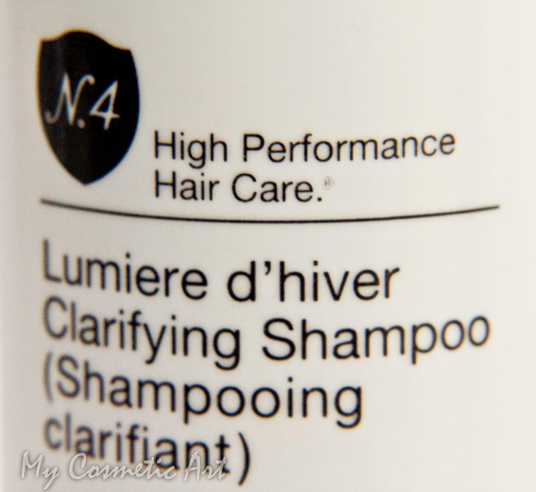 champú clarificante de Number 4 Hair