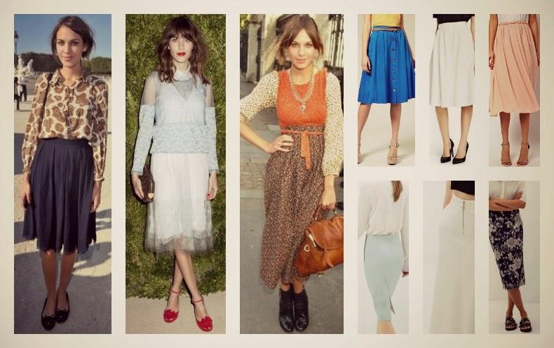 Faldas Midi Mujer después de los 40