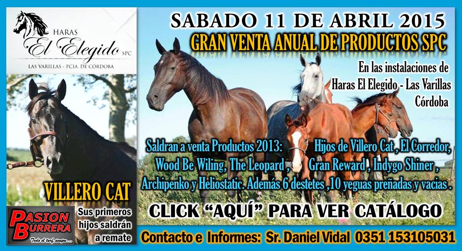 HARAS EL ELEGIDO - REMATE - 11 ABRIL