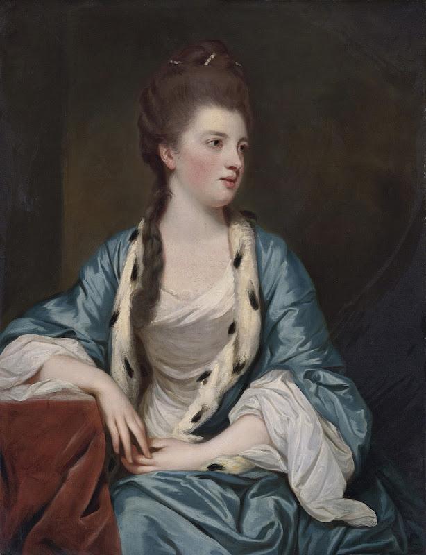 Joshua Reynolds - Elizabeth Kerr of Lothian (1745-1780)