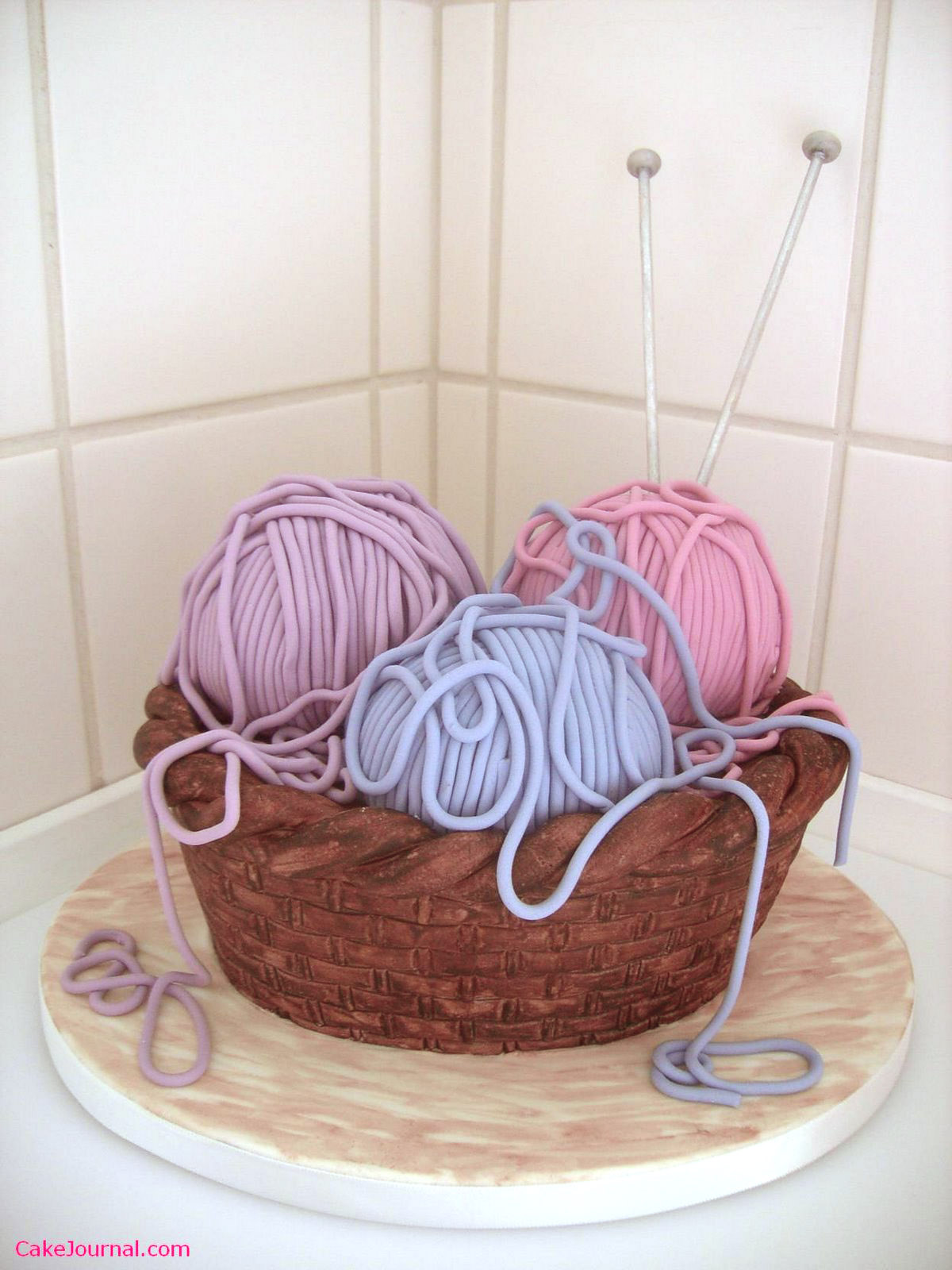 Knitting Cake Ideas : What not to knit happy birthday