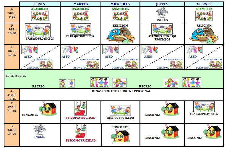 HORARIO 2013-2014