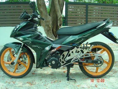 Modifikasi Jupiter MX Minimalis